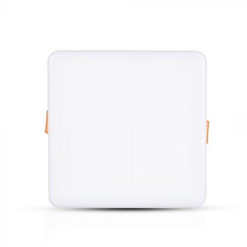 V-TAC MINI LED Paneel Downlight wit 18 Watt 4000K vierkant IP20