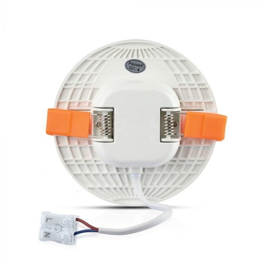 MINI LED Paneel Downlight wit 24 Watt 6400K rond IP20