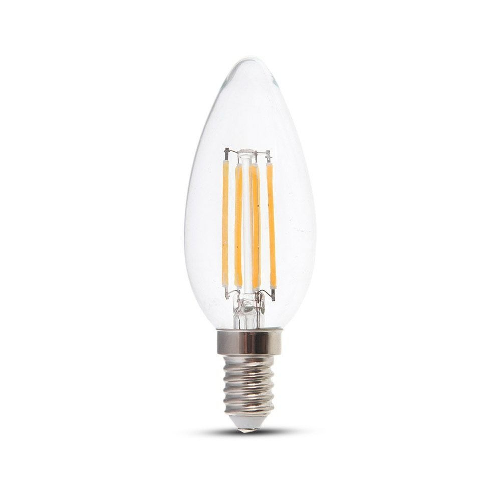E14 LED Filament Lamp 4 Watt 2700K Vervangt 30 Watt
