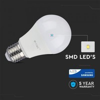 E27 LED Bulb 9 Watt A58 Samsung 3000K Replaces 60 Watt