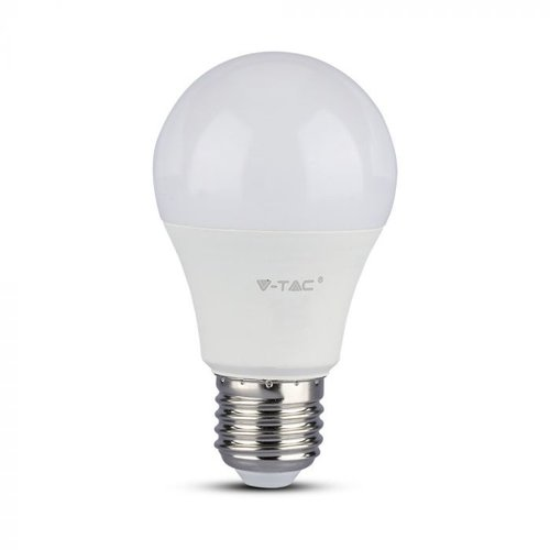 V-TAC E27 LED Bulb 9 Watt A58 Samsung 3000K Replaces 60 Watt