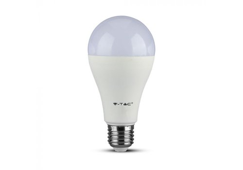 V-TAC E27 LED Bulb 15 Watt A65 Samsung 3000K replaces 85 Watt