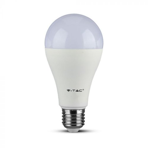 V-TAC E27 LED Bulb 15 Watt A65 Samsung 6400K replaces 85 Watt