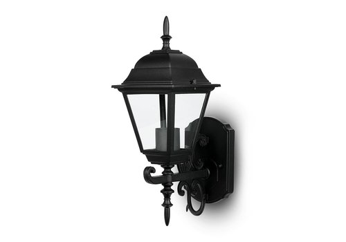 V-TAC Traditional classic wall lamp black for E27 lamps IP44 3 year warranty