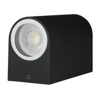 Tweezijdig oplichtende buitenlamp wand voor GU10 spots IP44 vochtbestendig 3 jaar garantie