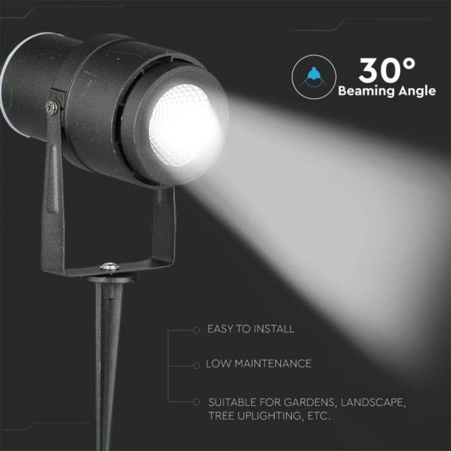 LED Prikspot 12 Watt 720lm 3000K 30° Stralingshoek IP65 waterdicht