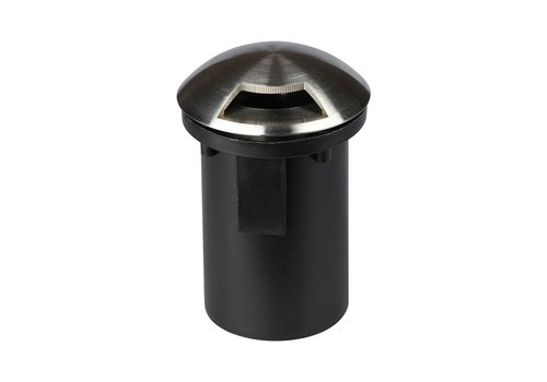 Underground Fitting Round Stainless Steel IP67 MR16 fitting - 1 Light
