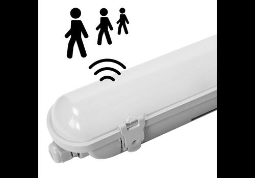 HOFTRONIC™ IP65 LED Wannenleuchte met Sensor 150 cm 50W 6000lm 6000K mit Osram Treiber