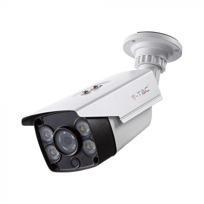 WIFI beveiligingscamera voor binnen en buiten 1080P HD Wit
