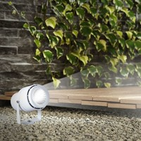 LED Prikspot 12 Watt 720lm 3000K 30° Stralingshoek IP65 waterdicht wit