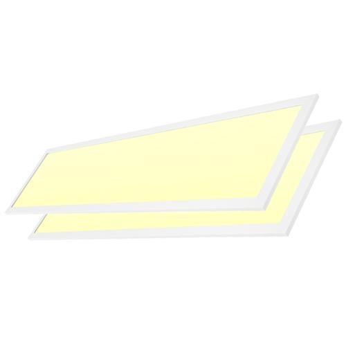 LED panel 30x120 cm 40W 3900lm 3000K incl. driver [2 pieces]