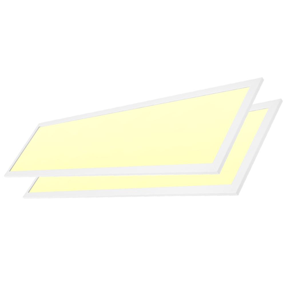 LED paneel 30x120 cm 40W 3900lm 3000K incl. trafo [2 stuks]