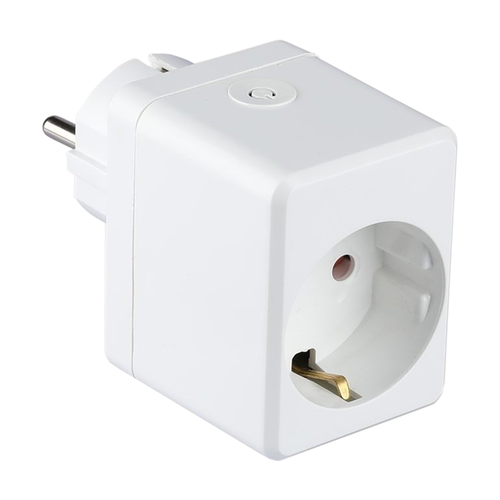 V-TAC Smart plug with USB port White