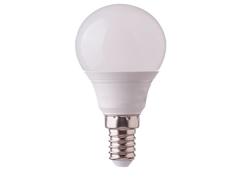 10-Pack E14 LED Bulb 5.5 Watt P45 2700K Replaces 40 Watt