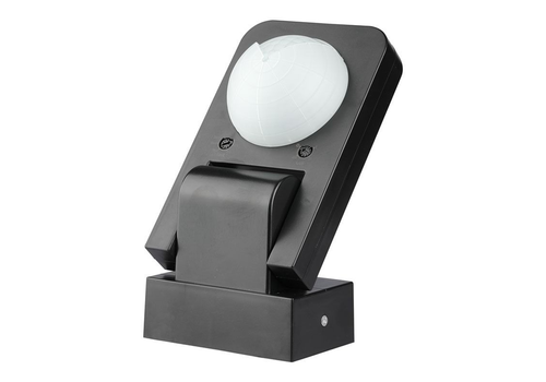 PIR motion sensor 360° 20 meter Maximum 1000 Watt IP65 Black