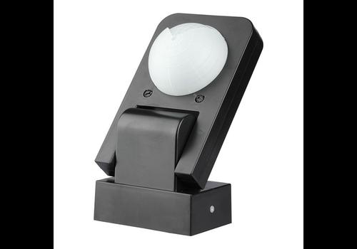 V-TAC PIR bewegingssensor 360° bereik 20 meter Maximaal 1000 Watt IP65 Zwart