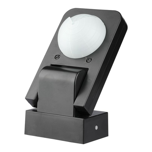 V-TAC PIR motion sensor 360° 20 meter Maximum 1000 Watt IP65 Black