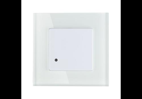 Mikrowellen Bewegungssensor 180° 15 Meter Maximal 300 Watt Einbau weiß