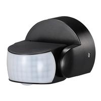 HOFTRONIC™ Dimbare LED Wandlamp Blenda 3000K GU10 rond tweezijdig oplichtend zwart IP44