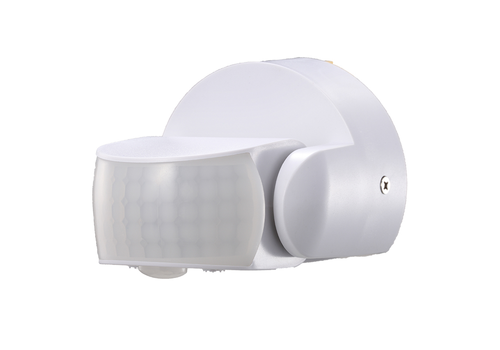 PIR motion sensor 180° 12 meter Maximum 600 Watt IP65 White