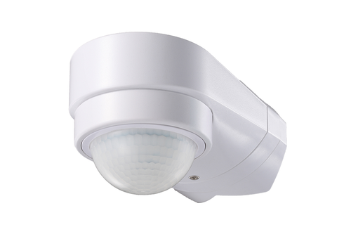 PIR motion sensor 240° 10 meter Maximum 600 Watt IP65 White