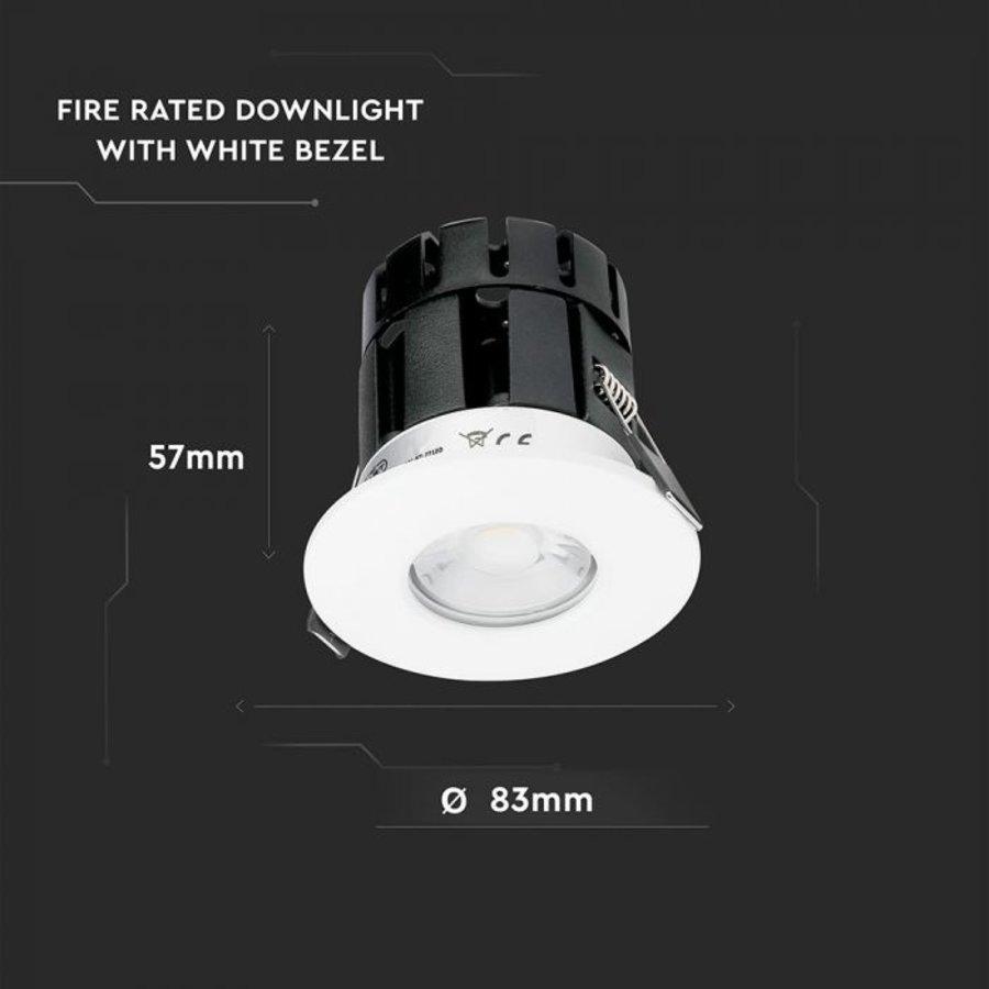 Complete set 3 stuks dimbare Bluetooth LED inbouwspot Stockholm 10 Watt IP65 - 5 jaar garantie