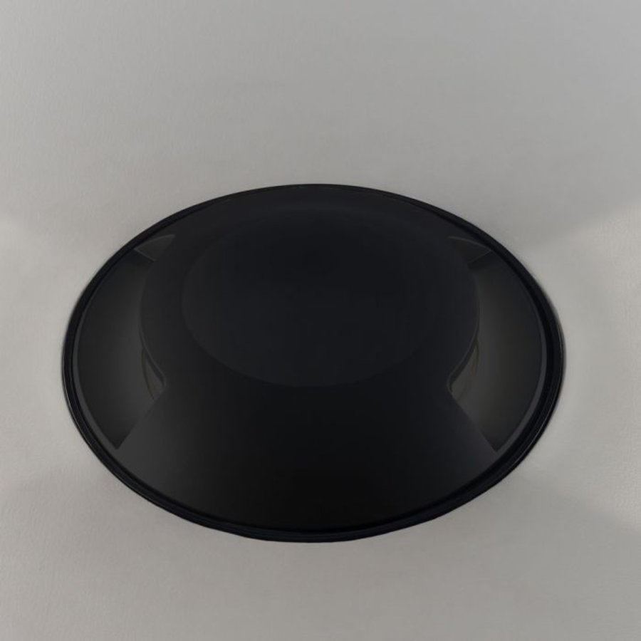 Set van 9 grondspots rond zwart 3000K 1 Watt IP67 12V - 2 Lichts