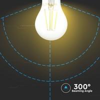 Dimbare E27 LED gloeilamp 4 Watt 400lm 2700K extra warm wit