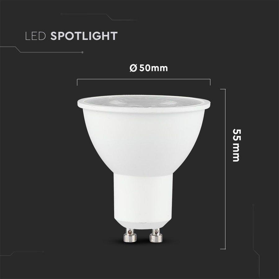 Dimmbare GU10 LED-Lampe 5 Watt 3000K Samsung (ersetzt 40W)