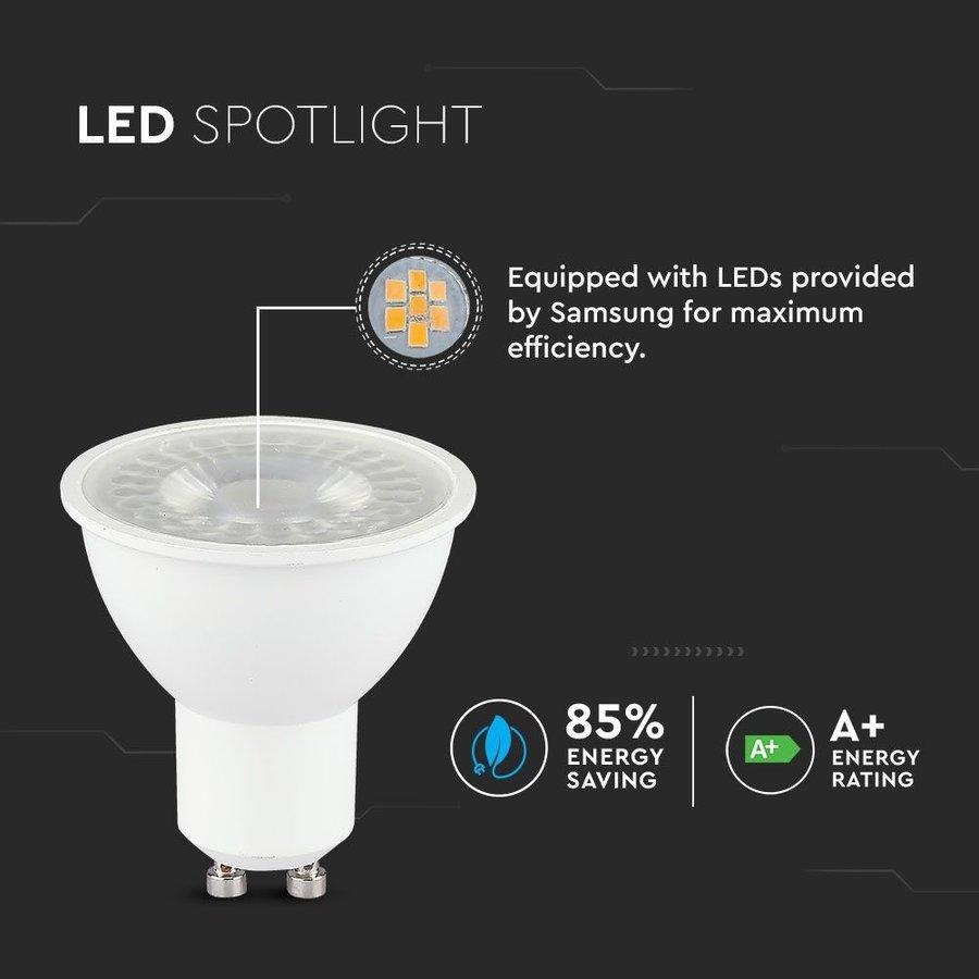 GU10 LED-Lampe 5 Watt 3000K Samsung (ersetzt 40W)
