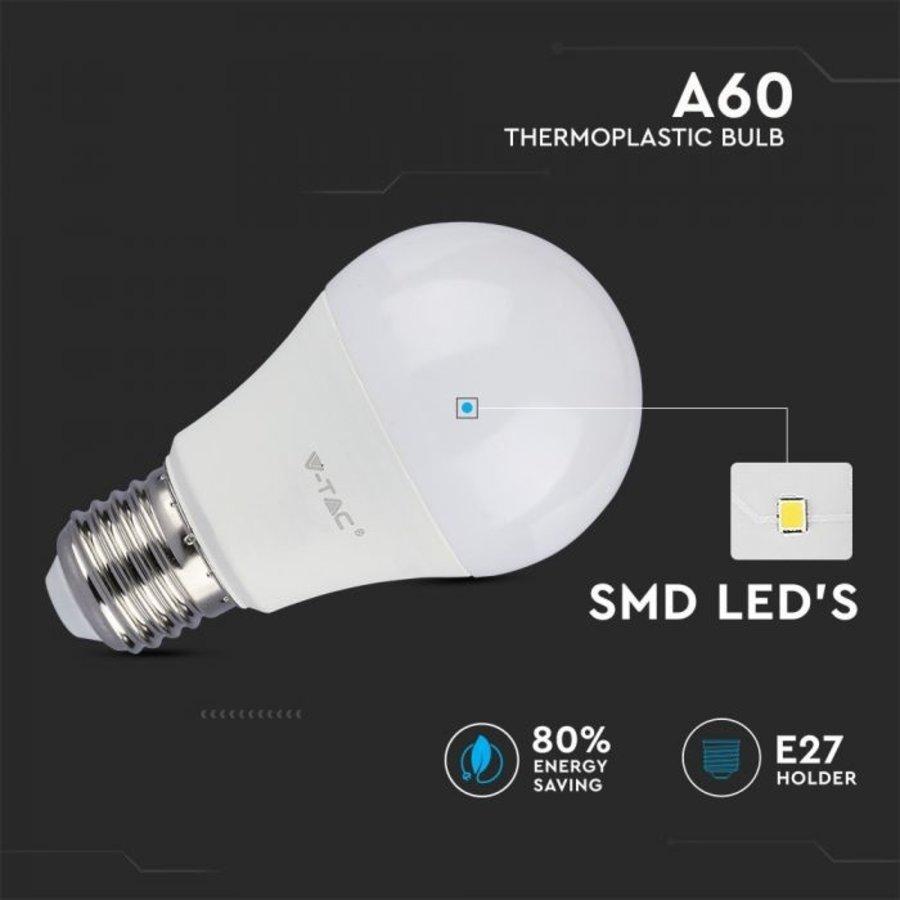 10-Pack E27 LED Lamp 11 Watt 4000K A60 Vervangt 75 Watt