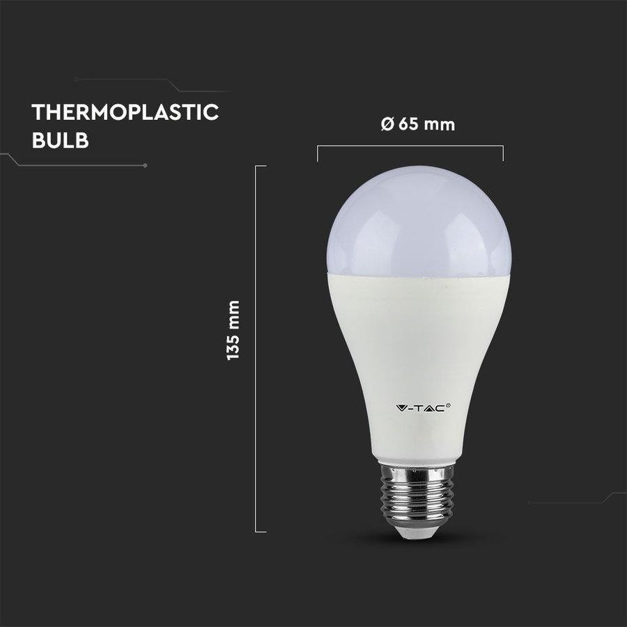 E27 LED Lamp 8,5 Watt 3000K A60 Samsung Vervangt 75 Watt