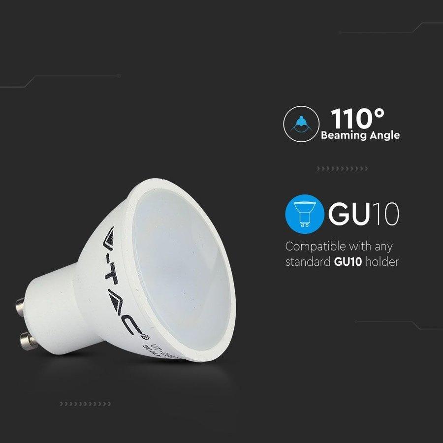 GU10 LED lamp 5 Watt 3000K niet-dimbaar (vervangt 40W)