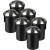 Set of 6 ground spots Round Stainless Steel IP67 MR16 3000K - 2 Lights