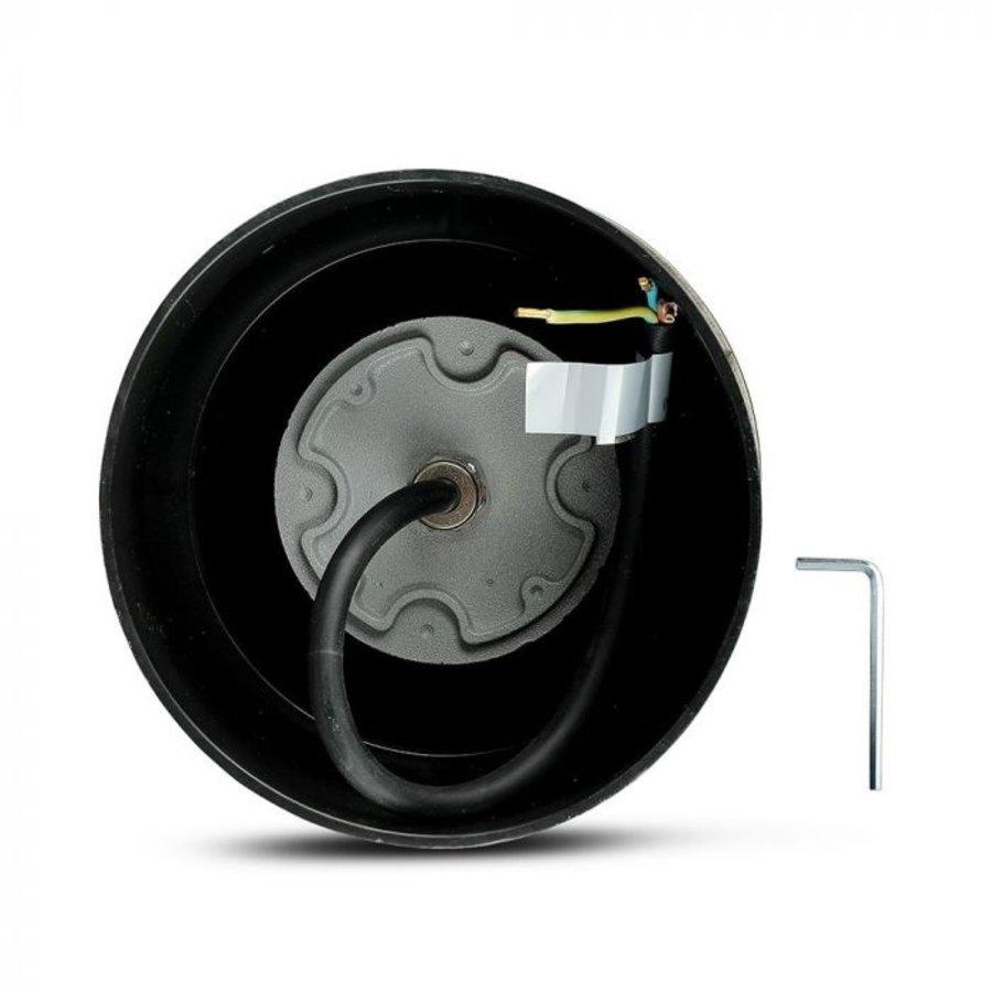 Set of 9 ground spot stainless steel round 8 Watt 4000K Oblique 20° IP67 waterproof 2 years warranty