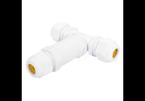 V-TAC Kabelverbinder T-vorm IP68 waterdicht wit