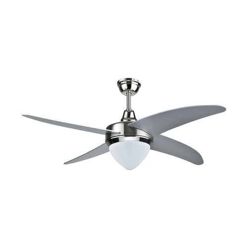 V-TAC Ceiling fan steel with remote control 60 Watt LED 3-in-1