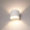 HOFTRONIC™ Dimbare LED Wandlamp Denver wit 6 Watt 3000K tweezijdig oplichtend IP54