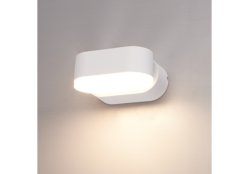 HOFTRONIC™ Dimbare LED Wandlamp Dayton wit 6 Watt 3000K kantelbaar IP54