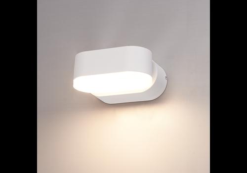 HOFTRONIC™ Dimmable LED wall light Dayton white 6 Watt 3000K tiltable IP54