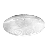Polycarbonate reflector and cover for 100° LED high bay 70-110 Watt