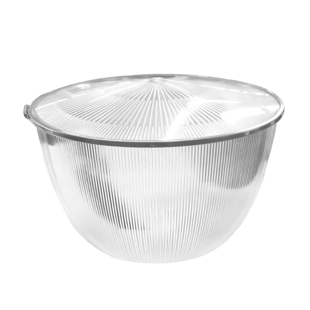 Polycarbonaat reflector en cover 100° LED high bay 70-110 Watt
