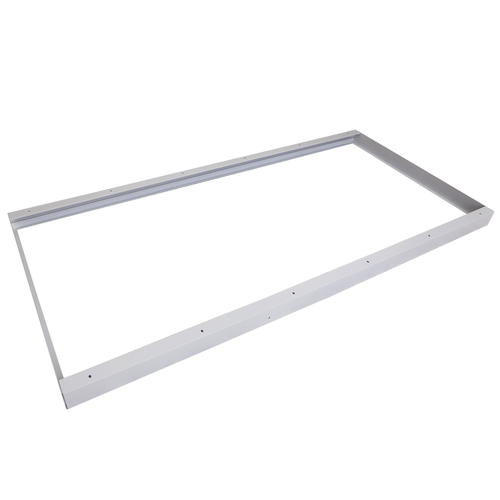 Mounting frame for LED Panels 60 x 120 cm color white