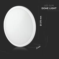 LED plafondlamp Wit ambiance 12W 1440 Lumen 4000K IP65 Spuitwaterdicht 5 jaar garantie