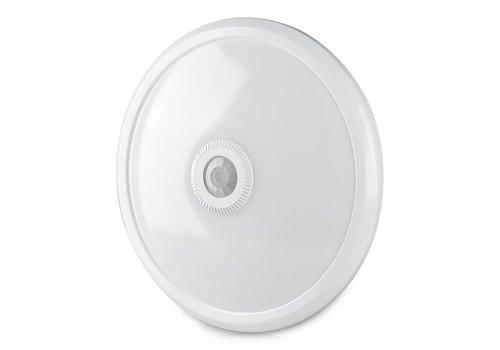 V-TAC LED-Deckenleuchte weiß mit Bewegungsmelder 12W 800 Lumen 3000K IP20 3 Jahre Garantie