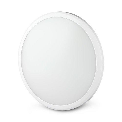 V-TAC LED-Decke Weiß 12W 1440 Lumen 6400K IP65 Spritzwassergeschützt 5 Jahre Garantie