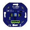 Ecodim LED dimmer 0-300 Watt Fase aan- en afsnijding