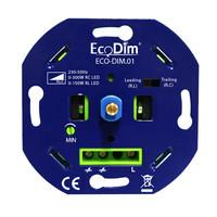 HOFTRONIC™ Set van 3 stuks Dimbare LED inbouwspot RVS Venezia 6 Watt 2700K IP65
