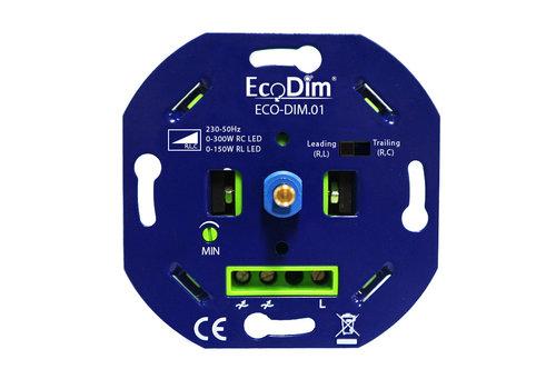 Ecodim LED Dimmer 0-300 Watt  Phasen an und abschnitt