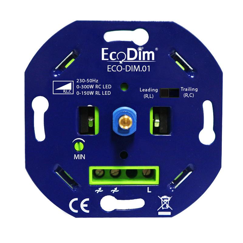 LED dimmer 0-300 Watt Fase aan- en afsnijding